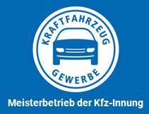 Meisterfachbetrieb der KFZ-Innung