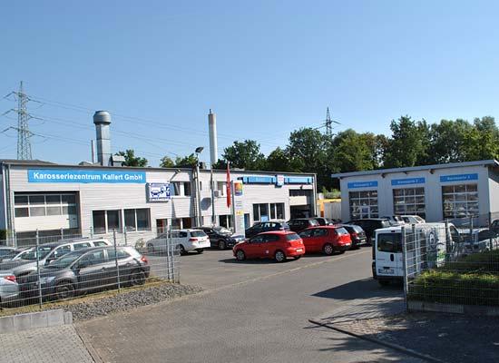 Firmengelände Kfz-Werkstatt Wesseling