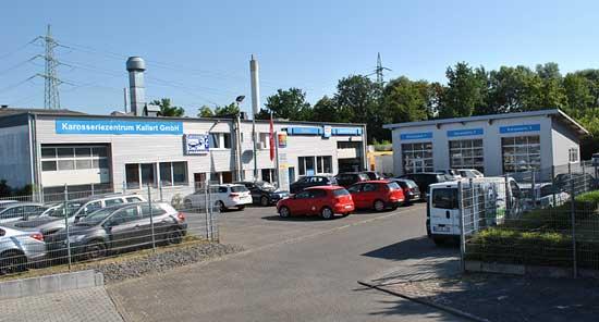 Kallert Karosseriezentrum Firmengelände